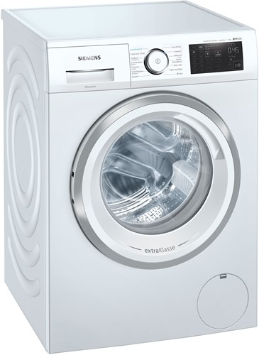 Siemens WM14UQ95NL iSensoric wasmachine met sensoFresh programma voor opfrissen van delicate kleding, anti-vlekken programma voor de 4 meest voorkomende vlekken en multiTouch LED Display.