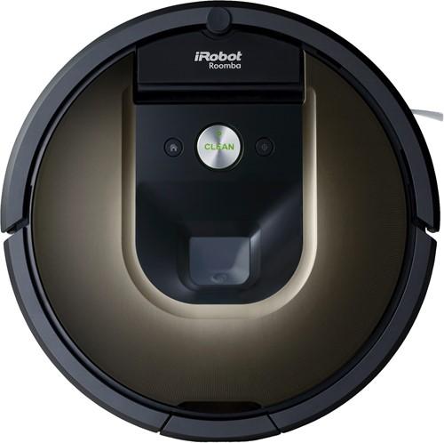 iRobot Roomba 980 robotstofzuiger Zakloos Zwart, Bruin 0,6 l