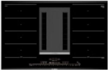 Bosch Serie 8 PXX895D33E kookplaat Zwart Ingebouwd Zone van inductiekookplaat 4 zone(s)