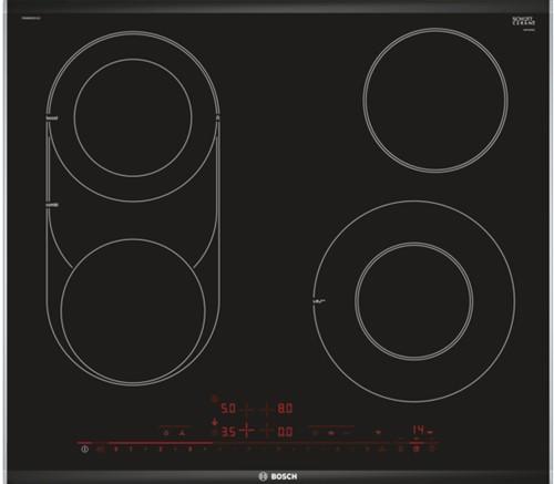 SerieI6, Keramische kookplaat, 60 cm, 4 zones, Combi, DS-Pre