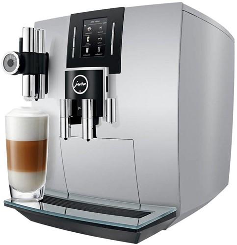 Jura 15111 J6 BRILJANT SILVER Espresso machine