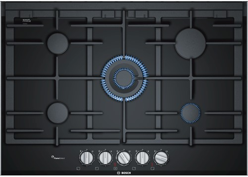 SerieI8, Glaskeramisch gaskookplaat 75 cm, wok, FlameSelect