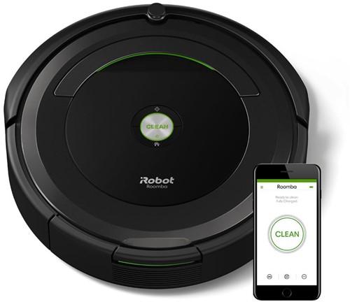 iRobot Roomba 696 robotstofzuiger Zwart