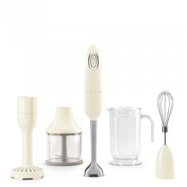 Smeg HBF02CREU blender Staafmixer Crème 700 W
