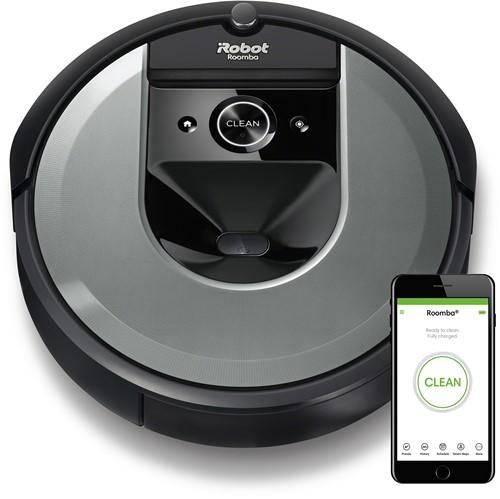 iRobot Roomba i7 robotstofzuiger 0,4 l Zakloos Zwart