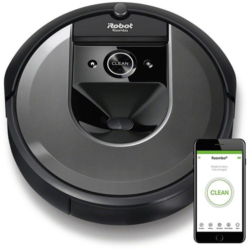 iRobot Roomba i7158 robotstofzuiger Zakloos Zwart 0,4 l