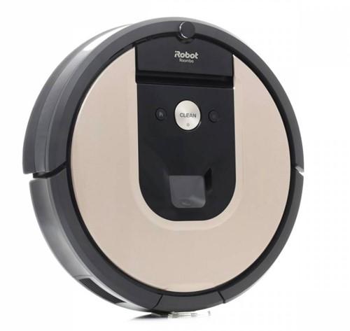 iRobot Roomba 976 robotstofzuiger 0,6 l Zakloos Beige, Zwart, Bruin