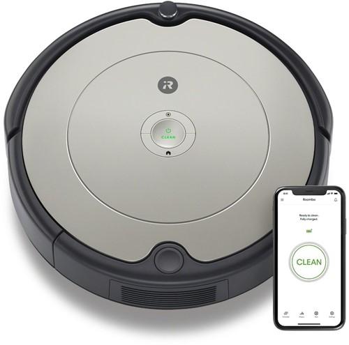 iRobot Roomba 698 robotstofzuiger 0,6 l Zakloos Zwart, Grijs