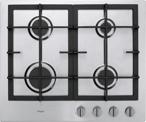 Pelgrim GK4060RVS Gas kookplaat inbouw