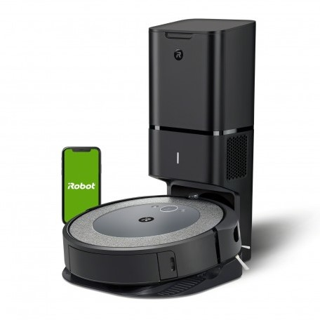 iRobot Roomba i3+ robotstofzuiger Stofzak Zwart, Grijs
