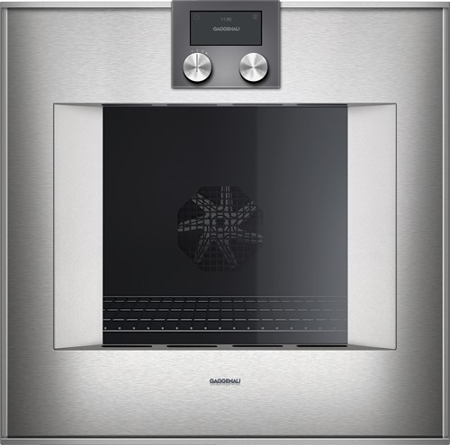 Gaggenau BO470112 Oven 60 cm RVS 17 syst pyrolyse rechts/boven