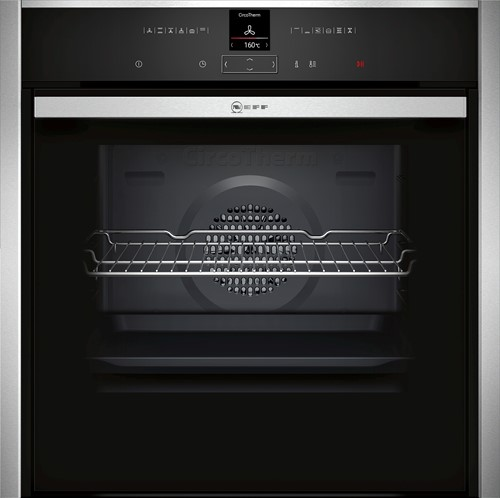 NEFF B57CR22N0 Bakoven 60cm,12 syst, pyrolyse,S&H