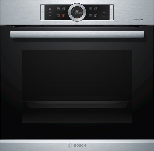 HBG8755S1 Serie|8, Bakoven 60 cm, 13 syst, pyrolyse