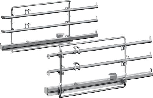 NEFF Z11TC14X0 Inhangroosters met 1-voudig-ComfortFlex Rail