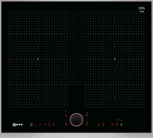 NEFF T66TS61N0 60 cm, 4 zones, 2 Uflex, TPFire, metalDesign
