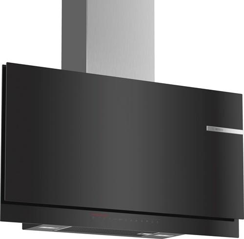 Bosch DWF97KS69 SerieI6, Wandschouwkap, 90 cm, vlak, zwart, DS-premium, Ambi