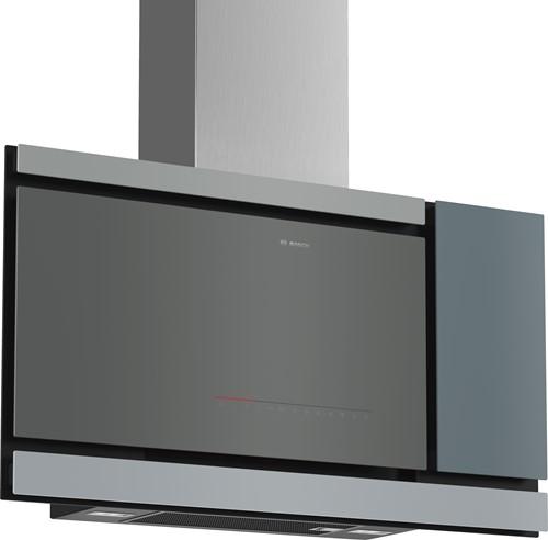 Bosch DWF97MS79 SerieI8, Wandschouwkap, Mondriaan, 90 cm, vlak, zwart, TC, A