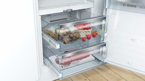 KIF52SD40 SER8, Integr. koelkast VitaFresh 140 cm A+++, SoftClose, AL