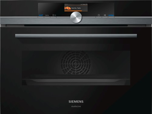 Siemens CM876G0B6 iQ700, Comp oven met magn, 13 syst, pyrolyse, HC