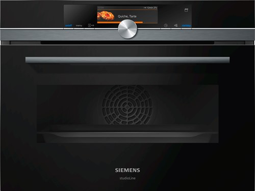 Siemens CS858GRB7 iQ700, Comp oven met stoom, 15 syst, ecoCl Full, HC