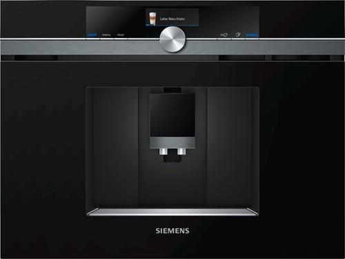 Siemens CT836LEB6 iQ700, Inbouw espresso koffie volautomaat, HC