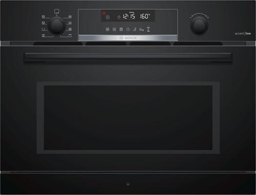 CPA465GB0 SerieI6, Comp. Magn., stoom, hetelucht, grill, zwart