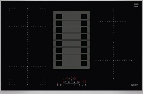 NEFF T48TD1BN0 80 cm, 1 CombiZone, Kookplaat met afzuiging, TC