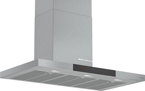 Bosch DWB97JQ55 SerieI8, Wandschouwkap 90 cm, blok, TC, PerfectAir