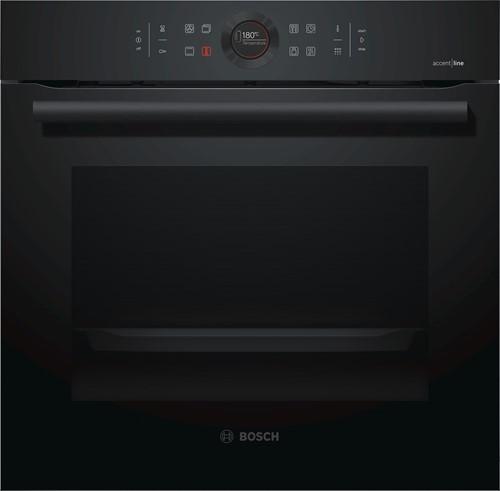 Bosch HBG8755C0 Serie|8, Bakoven 60 cm, 13 syst, pyro, Carbonblack