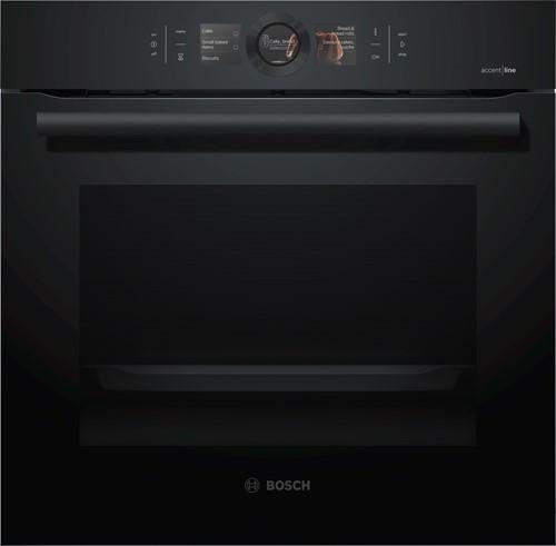 Bosch HBG8769C6 Serie|8, Bakoven 60 cm, 13 syst, pyrolyse, HC, Carbonblack