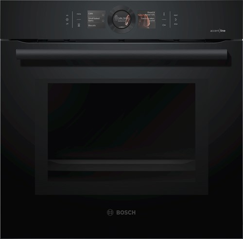 Bosch HMG836NC6 Serie|8, Bakoven met magn 60 cm, 9 syst, HC, EcoClean, Carbo