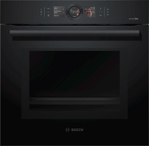 Bosch HMG8764C6 Serie|8, Bakoven met magn 60 cm, 14 syst, HC, pyro, Carbonbl