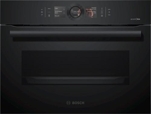 Bosch CSG856NC1 Serie 8, Comp bakoven met stoom, 12 syst, EcoClean Full