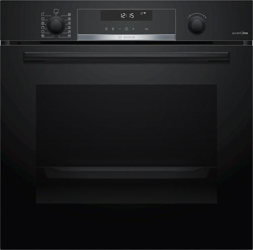 Bosch HBG4785B6 SerieI6, Bakoven 60 cm, 10 syst, pyro, zwart