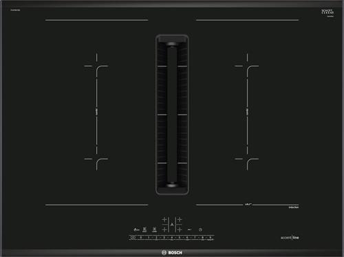 Bosch PVQ795F25E SerieI6, Inductiekookplaat met afzuigmodule 70 cm, DirectSelect, comfort profiel