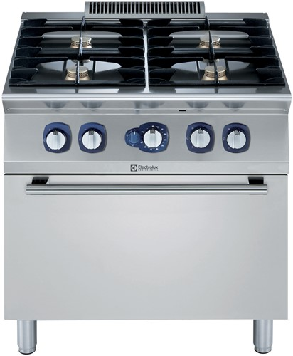 ELECTROLUX FORNUIS- GAS- 4 BRANDERS- GAS OVEN- 800 MM