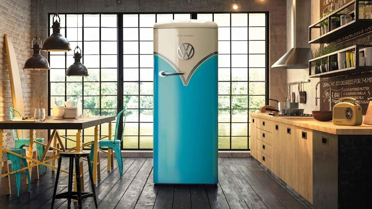 Thuis op reis met de Volkswagen Bulli koelkast